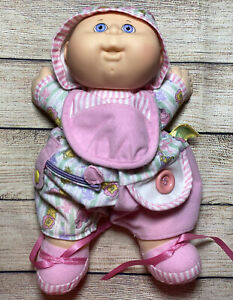 Vtg-Cabbage-Patch-Kids-Toddler-Collection-Love-N-Care-Baby-Doll-1993-Hasbro-Pink