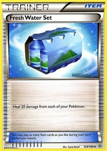 FRESH-WATER-SET-129-160-PRIMAL-CLASH-POKEMON-TRAINER-CARD-NEW-MINT