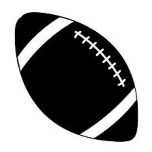 Football Vinyl Decal Car Window Sticker You Pick The Size /& Color