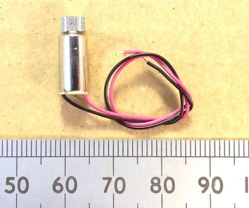Wires PCB Eccentric Mass Electric Vibra 3V Mobile Phone Vibrating Motor