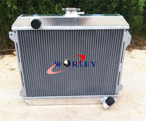 3core 1975-1979 Stanza Datsun 620 Aluminum Radiator MT 2.0L L20B I4 engine