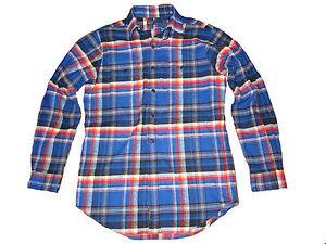 Polo Ralph Lauren Southwestern Indian Beacon Flannel Heavy Shirt Jacket M XXL