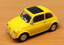 Schuco 403331151 .70, traccia 0, FIAT 500, giallo, 1:43
