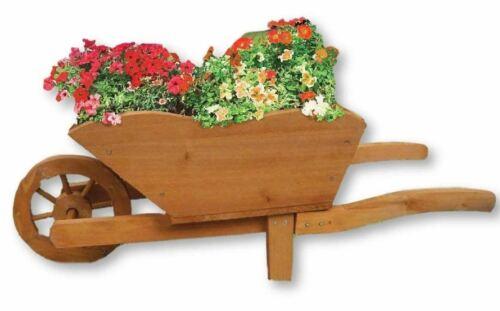 CARRIOLA per piante da giardino per la decorazione di casa 73x31x28cm