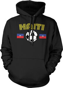 38e0448d5d3f Haiti National Soccer Team Le Rouge et Bleu Creole Football Hoodie ...