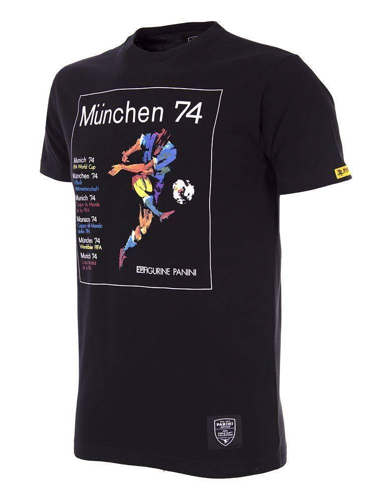 Copa Copa Copa Panini Heritage Fifa World Cup Deutschland WM 1974 T-Shirt NEU 93439 9c8c8d