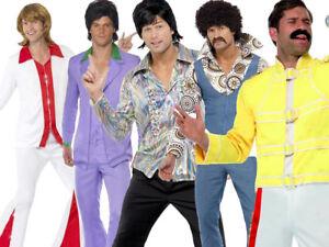 70s-Music-Disco-Mens-Adult-70-039-s-Super-Trooper-Adult-Fancy-Dress-Costume-New