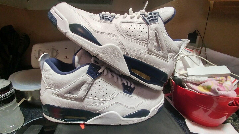 Nike air jordan retr iv xi leggenda 4 marina columbia xi iv oreo og 1 xi sz 13 vietato max 447ffb