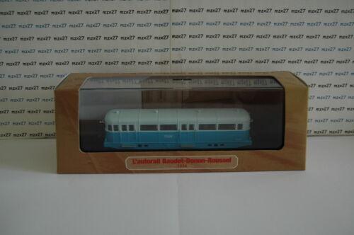 BAUDET-Donon-Roussel ZZ 60 A1 ma33 MICHELINES /& Autorails train SNCF 1//87 HO