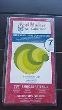 Spellbinders Nestabilities Dies S4-116 Standard Circles Large