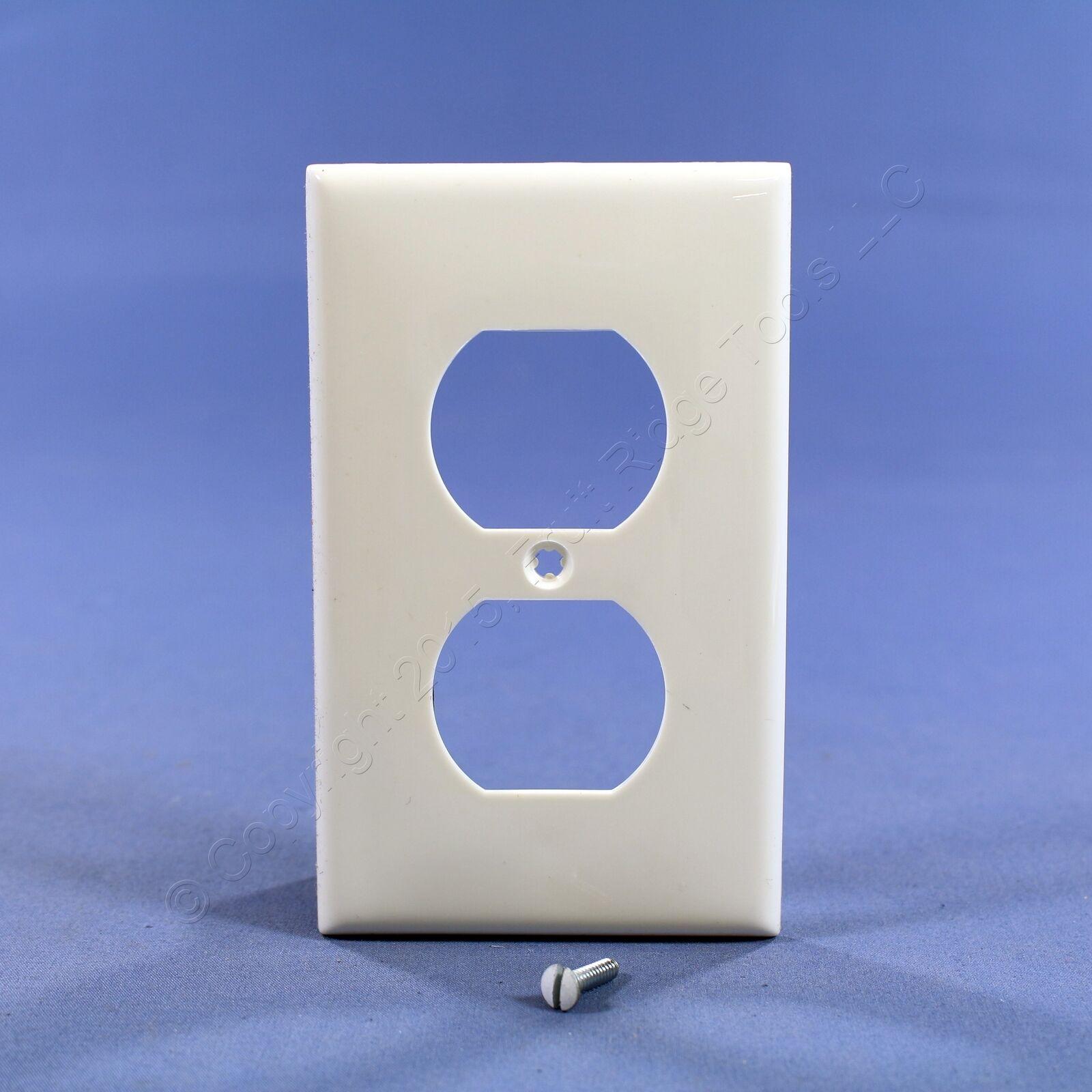 3 Leviton UNBREAKABLE BLUE Duplex Receptacle Wallplate Nylon Covers 80703-BU-011
