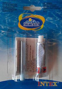 Intex reparatur set kleber repair kit flickzeug pool - Pool flicken ohne flickzeug ...