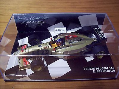 1/43 Jordan 1996 Peugeot 196 Rubens Barrichello-mostra Il Titolo Originale Grandi Varietà