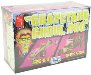 AMT-VRC-Hobbies-Graveyard-Ghoul-Duo-1-25-Scale-Plastic-Model-Car-Kits-1017