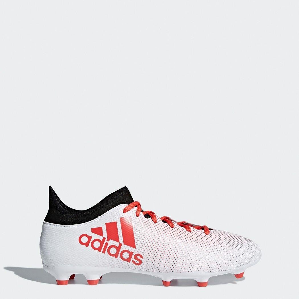 Adidas X 17.3 FG Fußballschuhe Herren weiß rot