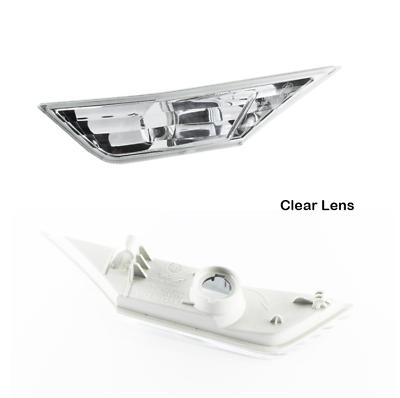 Clear For 16-18 Honda Civic X Side Marker Signal Blinker Corner Parking Light
