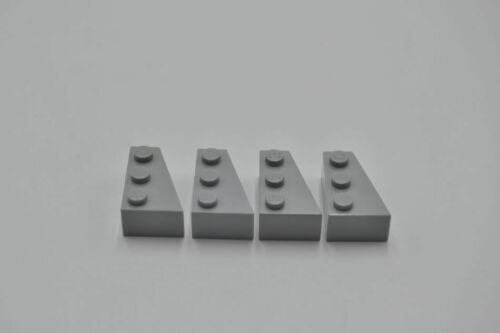LEGO 4 x Keilstein rechts neuhell grau Light Bluish Gray Wedge 3x2 Right 6564