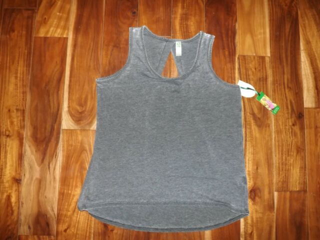 ADIDAS ladies womens tech fit solid tank vest top shirt  DEEP GREEN LARGE