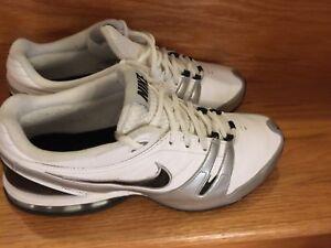 huge discount 030b7 f26c9 Image is loading Nike-Men-s-White-Black-Silver-Reax-Revolution-