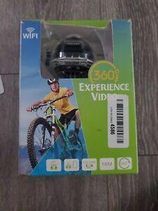 XDV360 Action Sports Camera Video 360 Panoramic Degree 16M LCD Mic SD WiFi black