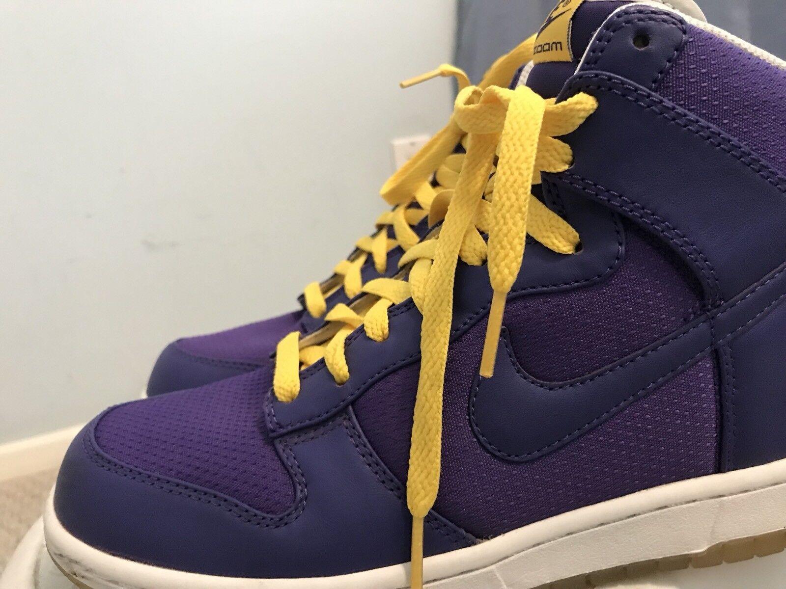 Nike lakers dunk hohe lakers Nike sz 8 nds 182e91
