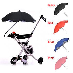 Universal-Pram-Pushchair-Stroller-Buggy-Umbrella-UV-Sun-Shade-Kids-Baby-Parasol