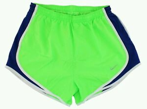 d5cce8b7884e NIKE Dri-Fit Tempo Running Shorts -Women s Large (Green Navy) NEW ...