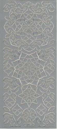 Starform Outline Stickers N° 1084 Rosace Rosette Auto-collants Peel offs