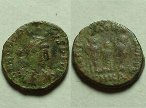 HONORIUS star, Arcadius & Theodosius II 406 AD Rare Genuine ancient Roman Coin