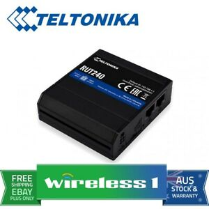 Teltonika RUT240-LTE Compact Industrial 4G LTE Wireless Router
