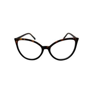 5b68f31b07 VTG 50s 60s Style Clear Lens Cat Eye Retro Rockabilly Glasses Fancy ...