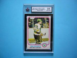 1981-82-O-PEE-CHEE-NHL-HOCKEY-CARD-161-DINO-CICCARELLI-ROOKIE-KSA-10-GEM-MT-OPC