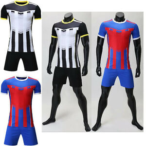 15a47032f Creative DIY Plain Blank Soccer Jersey Kits Football Uniforms Sport ...