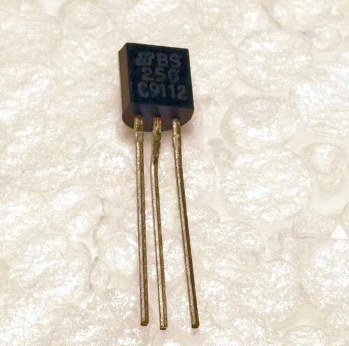 NOS Transistor MOSFET BS250 1,2 oder 3 Stück nach Wahl