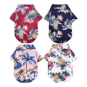 Floral-T-shirt-Cute-Dog-Shirt-Pet-Clothes-Puppy-Short-Sleeve-Small-Dog-Chihuahua