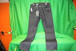 "NWT POLO RALPH LAUREN men's Denim Jeans Riverside ""Slim 381"", 33 x 32"