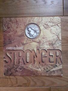 Cliff-Richard-Stronger-EMI-EMD-1012-Vinyl-LP-Album