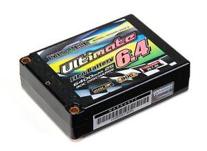 Rc Turnigy Nano-tech Ultimate 6400mah 2s2p 90c Hardcase Lipo Square Pack