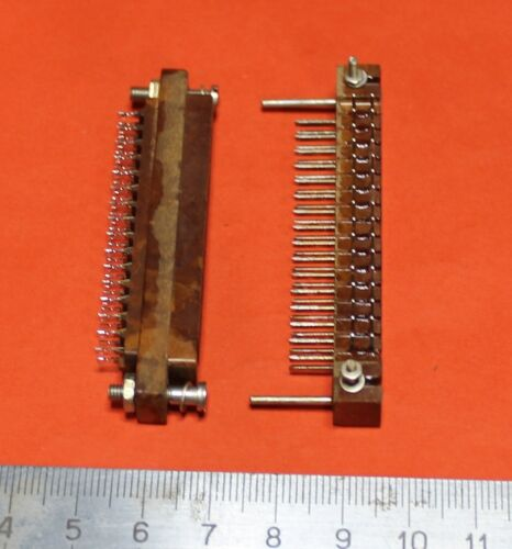 Military connector 32 pin M+F MRN-32 USSR Lot of 4 pcs