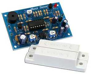 Door-Windows-Alarm-with-Time-delay-10-160-seconds-Assembled-Kit-9-12VDC