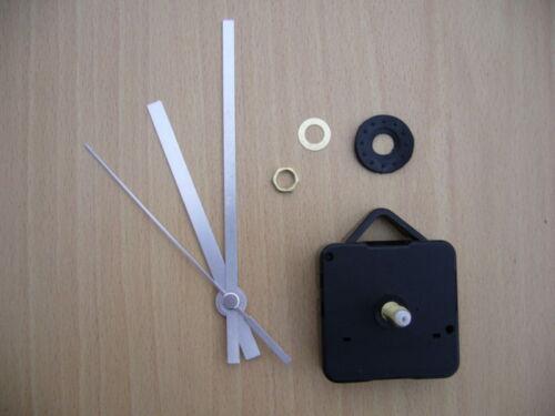 Mouvement D/'horloge Quartz longue broche 120mm aiguilles argentées