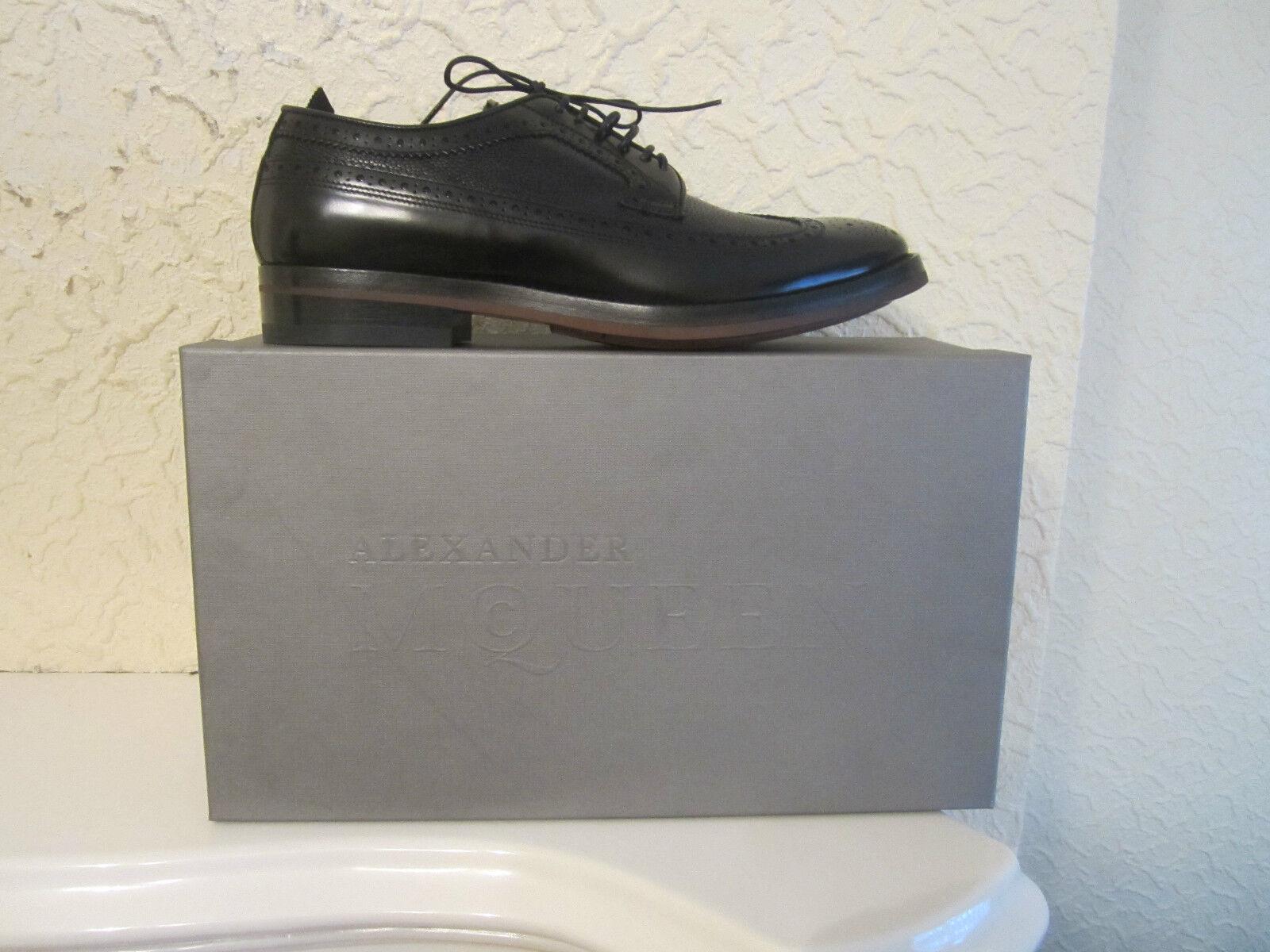 Alexander McQueen Noir en cuir Chaussures hommes