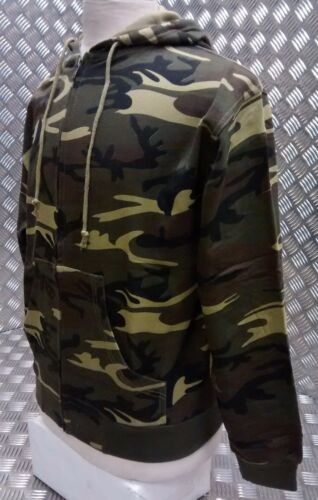 All Sizes NEW Woodland Camo Style Hoody Freestyle Skate Boarder Skater