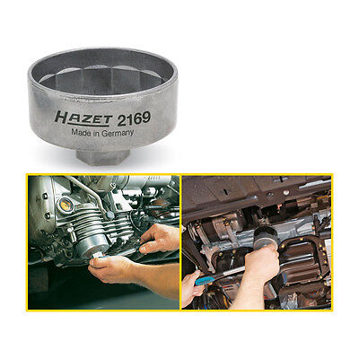 Outside 14-point profile Hazet 2169-11 Oil filter wrench