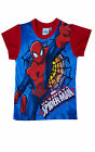 Garçon Officiel Spiderman Coton Été T-shirt Manches Courtes Haut Ans 3-9 An