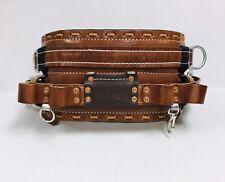 Buckingham 2100m Lineman Belt Brown Size 23 Beautiful Leather 20 Off Shipp