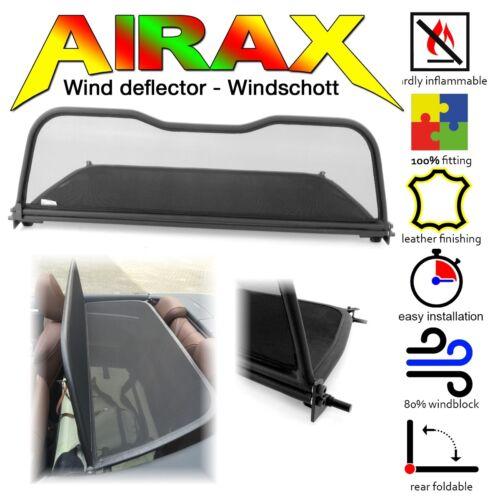 AIRAX Windschott wind deflector für Audi A3 convertible 8V7 8VE ab Bj.10//2013