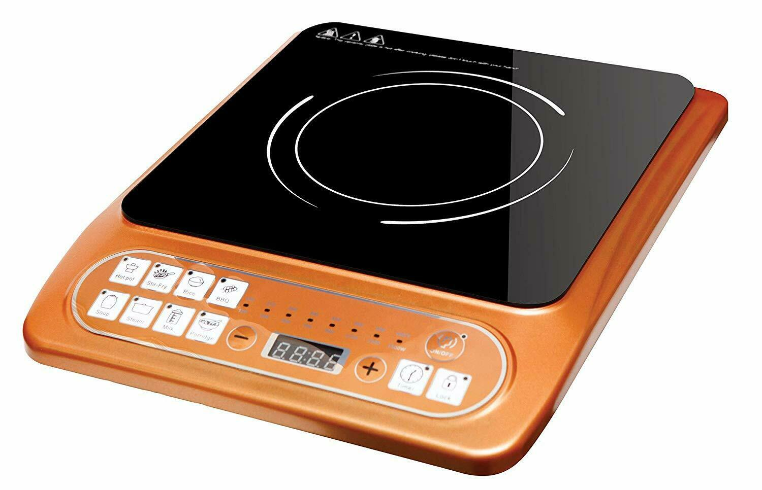 New Copper 8 in 1 Multi Function Cooking Induction Ceramic Cooktop 1500W