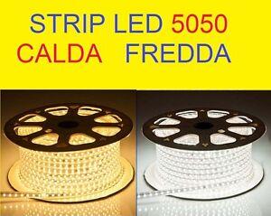 STRIP-LED-PER-INTERNO-ESTERNO-STRISCIA-LED-5050-CON-GUAINA-FLESSIBILE-DA1-A100M