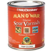 Man O In War Spar Varnish, Gloss, Quart